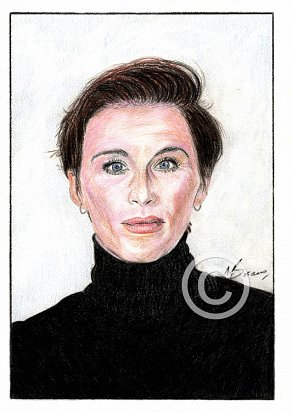 Vicky McClure Pencil Portrait