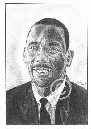 Wes Montgomery Pencil Portrait