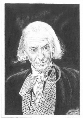 William Hartnell Pencil Portrait